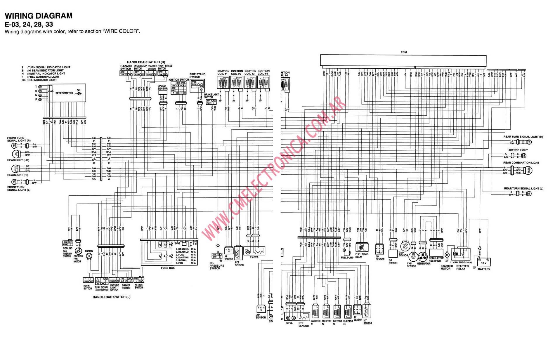 2006 Gsxr 1000 Taillight Wiring Diagram Residential Electrical Source ·  Amazing 2005 Suzuki Gsxr 600 Wiring Diagram Image Collection
